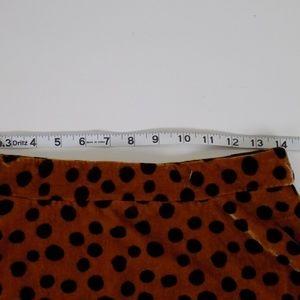 madewell Skirts - NWT madewell velvet leopard spots skirt 4